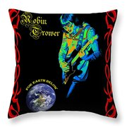 For Earth Below #3 Throw Pillow