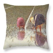 For Eighty Pennies Throw Pillow