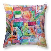 For Everything Will Be From His Word Throw Pillow