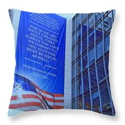 For If We Are Truly Created Equal Throw Pillow
