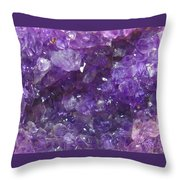 For Lovers Of Purple Throw Pillow