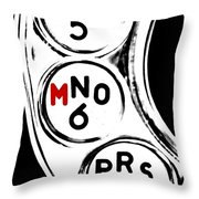 For Murder Throw Pillow by Benjamin Yeager