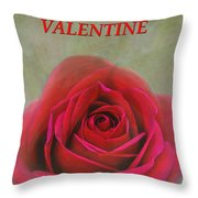For My Valentine Throw Pillow