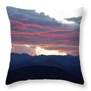 For Purple Mountains Majesty Throw Pillow