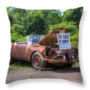 For Sale By Owner Throw Pillow by Rick Kuperberg Sr