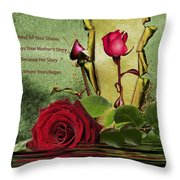 For The Beauty Of Her Throw Pillow