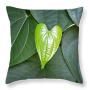 Everything Grows With Love Throw Pillow