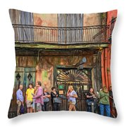 For The Love Of Jazz Throw Pillow