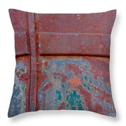 For The Love Of Rust II Throw Pillow