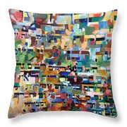 for we have already merited to receive the Torah 8 Throw Pillow