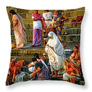 For Women Only Throw Pillow