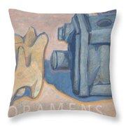 Foramens Throw Pillow
