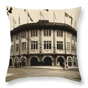 Forbes Field Pittsburgh 1909 Throw Pillow