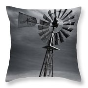 Forboding Skies Throw Pillow