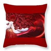 Force Of Creation - Self Portrait Throw Pillow