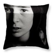 Forceful Mercies Throw Pillow