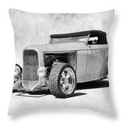 Ford 32 Roadster Throw Pillow