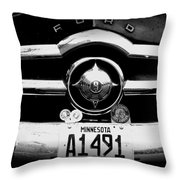 Ford 4 Throw Pillow