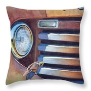 Ford And Wren Throw Pillow