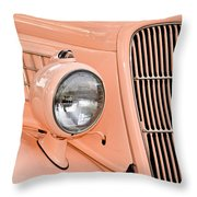 Ford Classic In Salmon Throw Pillow
