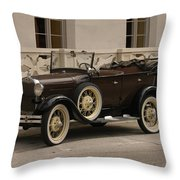 Ford Convertible 01 Throw Pillow