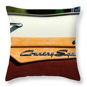 Ford Country Sedan Emblem Throw Pillow
