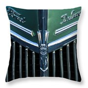 Ford Deluxe V8 Throw Pillow