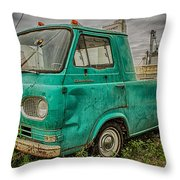 Ford Econoline Pickup Throw Pillow
