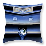 Ford F-1 V8 Truck Front End Throw Pillow