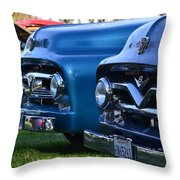 Ford F-100s Throw Pillow