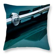 Ford F-2 Pickup Truck Side Emblem Throw Pillow