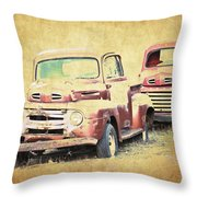 Ford F1 Throw Pillow