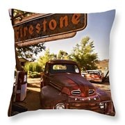 Ford Fever Throw Pillow