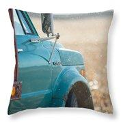 Ford Grain Truck Throw Pillow