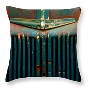Ford Grille Throw Pillow