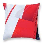 Ford Gt40 Sports Car Throw Pillow