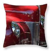 Ford Hotrod Throw Pillow