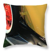 Ford Model A Throw Pillow