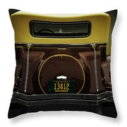 Ford Model A Cabriolet Throw Pillow
