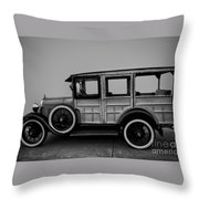 Ford Model A Station Wagon 1930 Throw Pillow