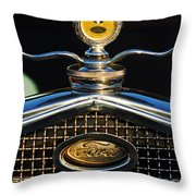 Ford Motometer Throw Pillow