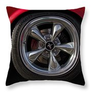 Ford Mustang Fastback Throw Pillow