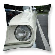 Ford Mustang Gt 350 Looking Back Throw Pillow
