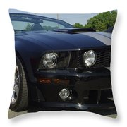 Ford Mustang Roush Throw Pillow