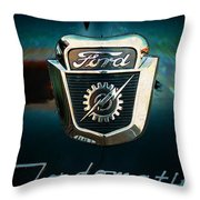 Ford-o-matic Throw Pillow