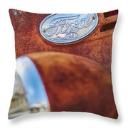 Ford Panel Throw Pillow