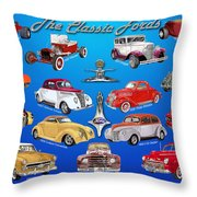 Another Ford Poster Throw Pillow