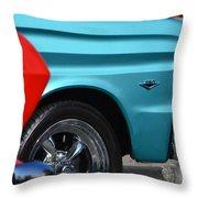 Ford Rancheros Throw Pillow