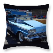 Ford Skyliner Throw Pillow