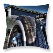 Ford Street Rod Throw Pillow